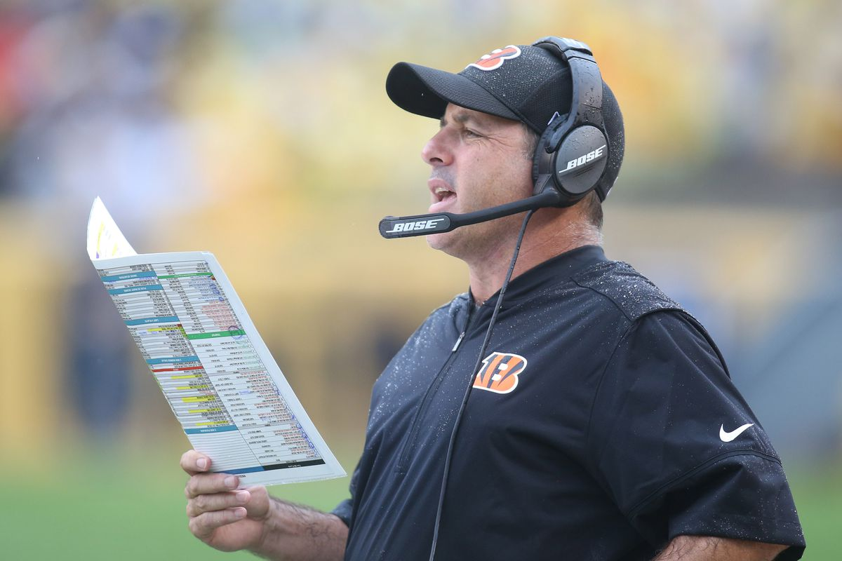 Cincinnati Bengals Fire Offensive Coordinator After Two Games and Zero Touchdowns