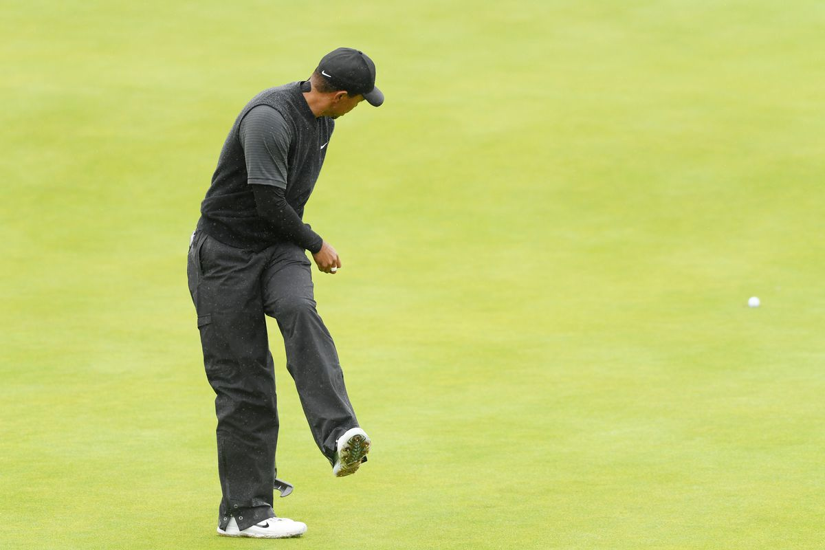 tiger woods will make the british open cut  but he u2019s got