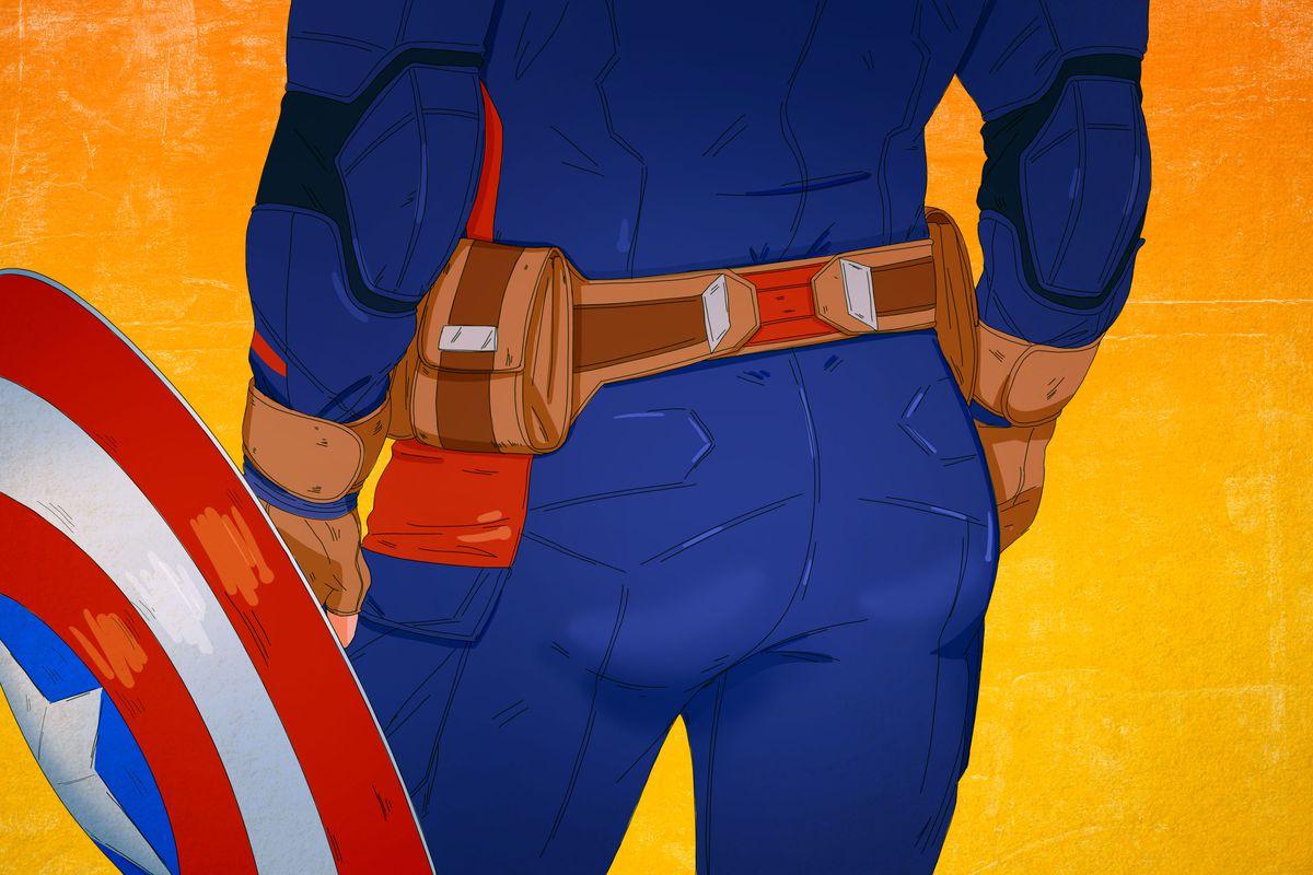 "Is Captain America's Butt Really ""America's Ass""? - The Ringer"
