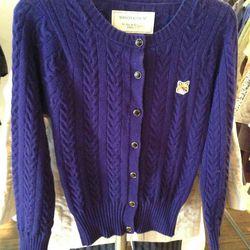 Maison Kitsuné women's sweater, $400