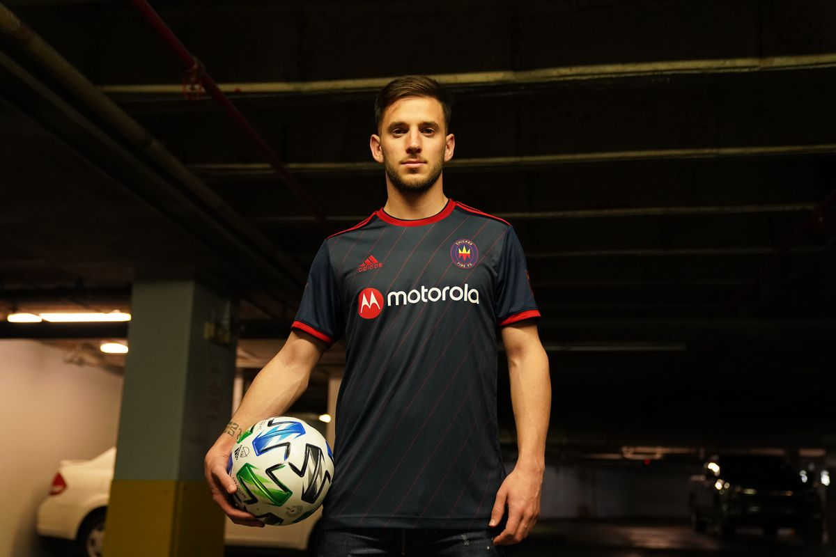 Chicago Fire Fc Unveils New 2020 Home Jersey Hot Time In Old Town