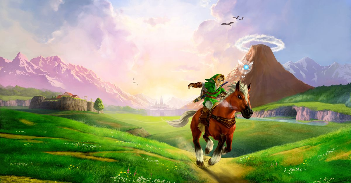 Zelda Ocarina Of Time S Hyrule Field Changed How We Think About Game Worlds Polygon