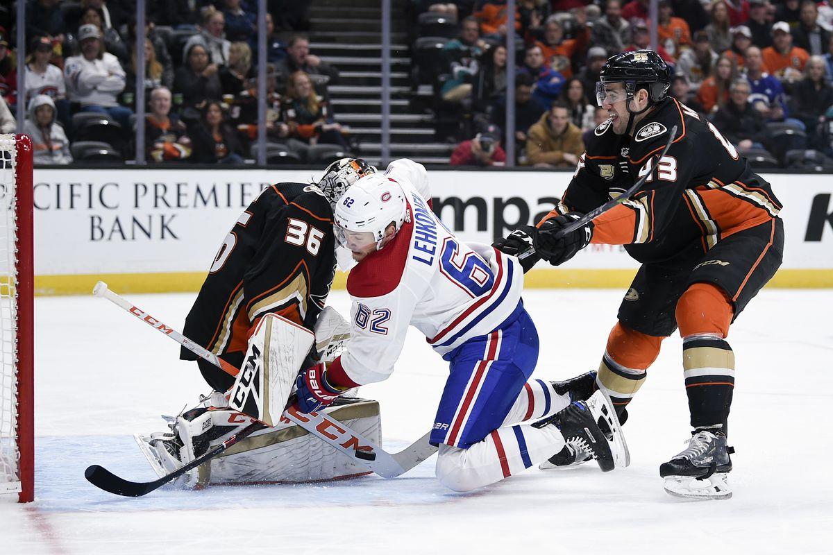 NHL: Montreal Canadiens at Anaheim Ducks