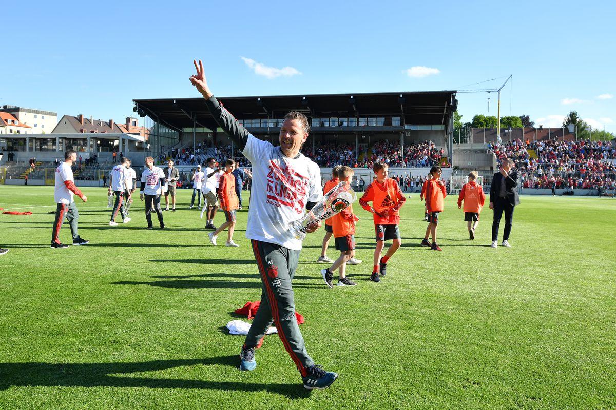 Bayern Muenchen II v VfL Wolfsburg II - Third League Playoff Second Leg