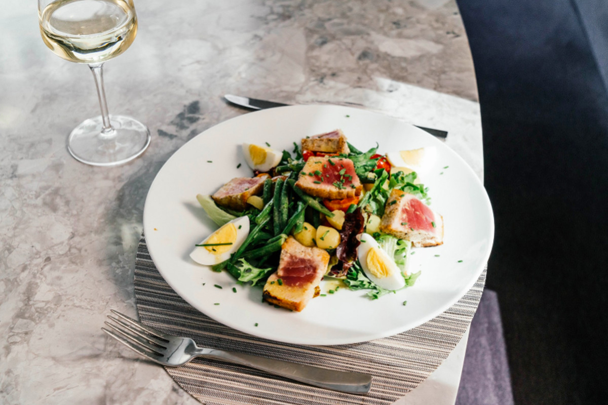 Nicoise salad from Freds