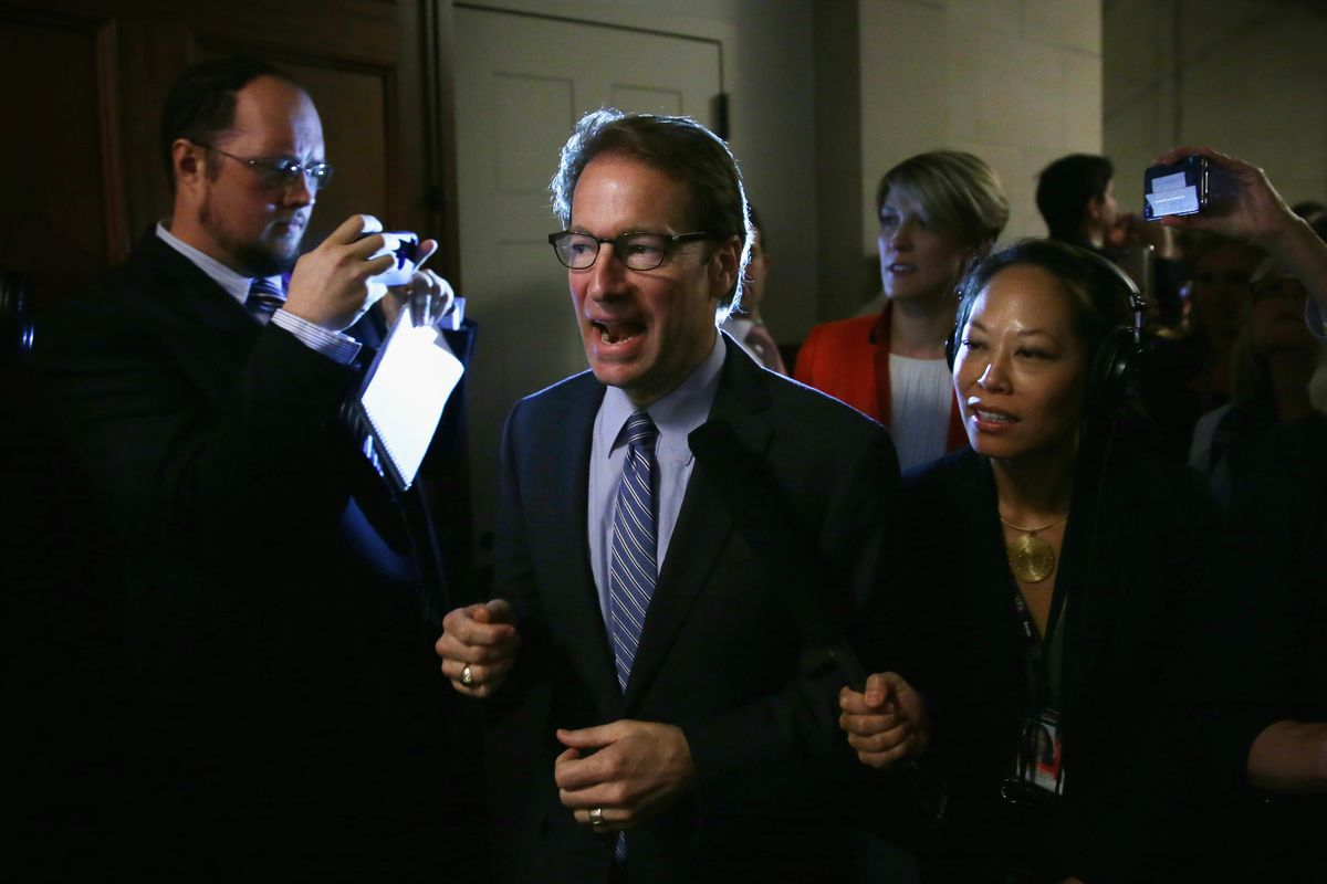 Rep. Peter Roskam (R-IL), one of the Republicans pushing for the new strategy on the Iran deal.