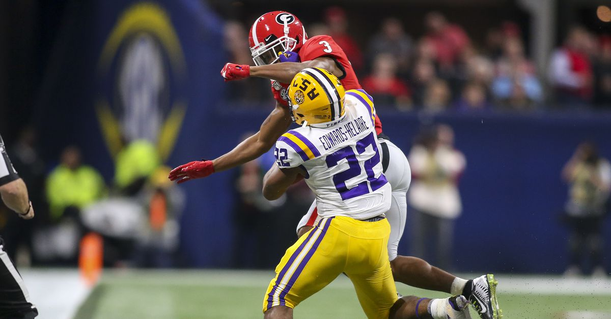 LSU's Clyde Edwards-Helaire is a prototypical three-down running back; how early in the draft should the Redskins consider him?