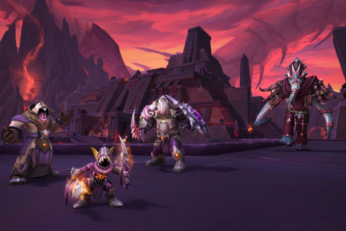 World of Warcraft Visions of N'Zoth patch
