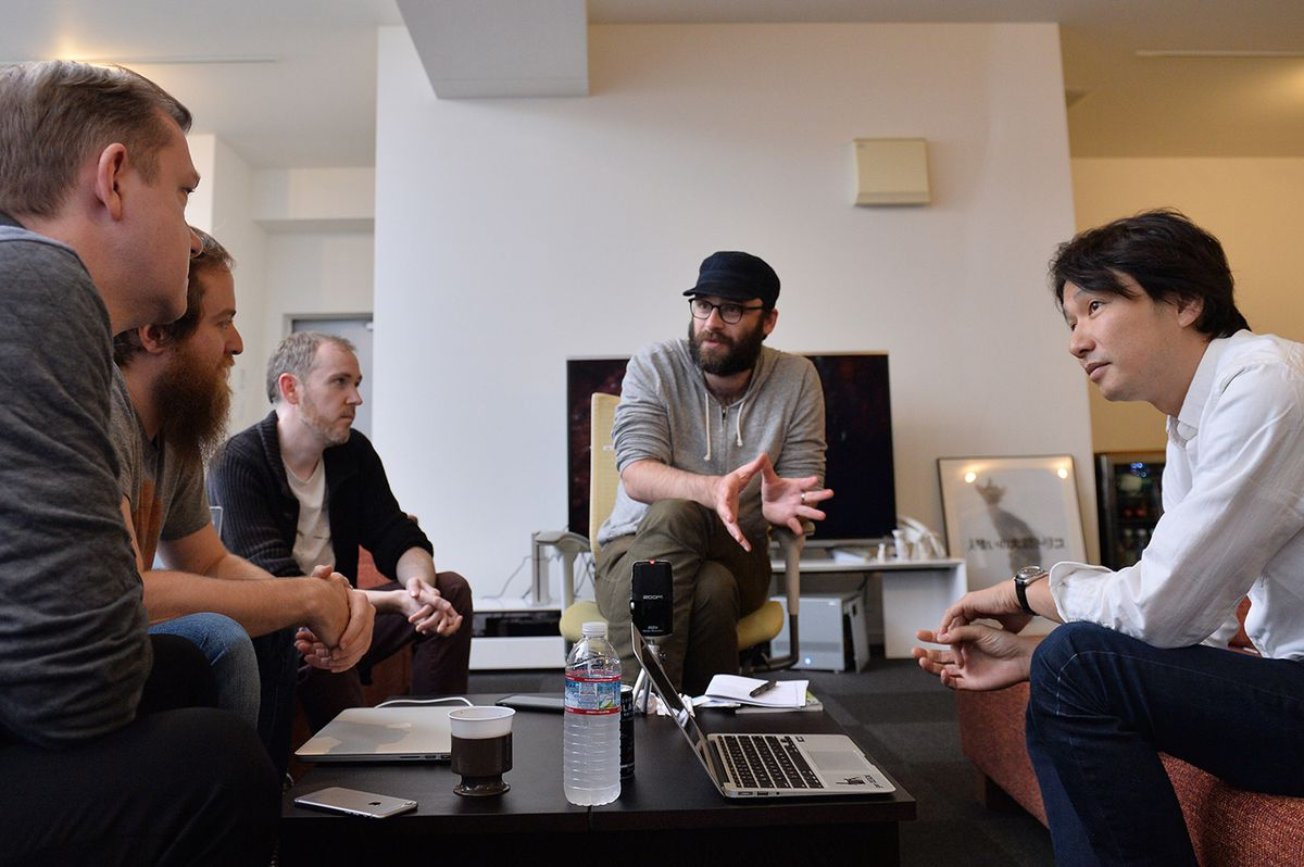 Future Press meets with Fumito Ueda for The Last Guardian book