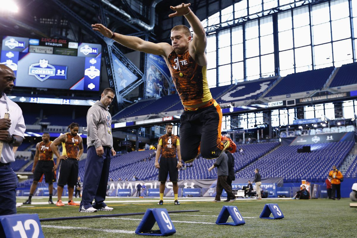 At the 2013 NFL Combine, you will believe that a man can fly...