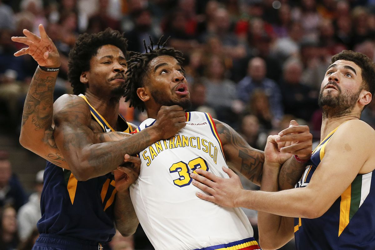 Utah Jazz play poorly again but outlast Golden State Warriors