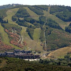 Park City Mountain Resort is visible in Park City on Thursday, Sept. 11, 2014.