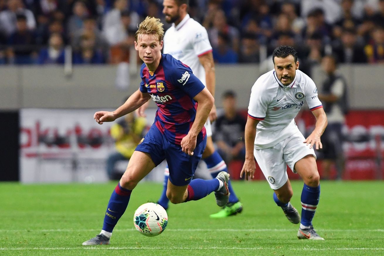 Pedro wouldn't mind playing for Barca again