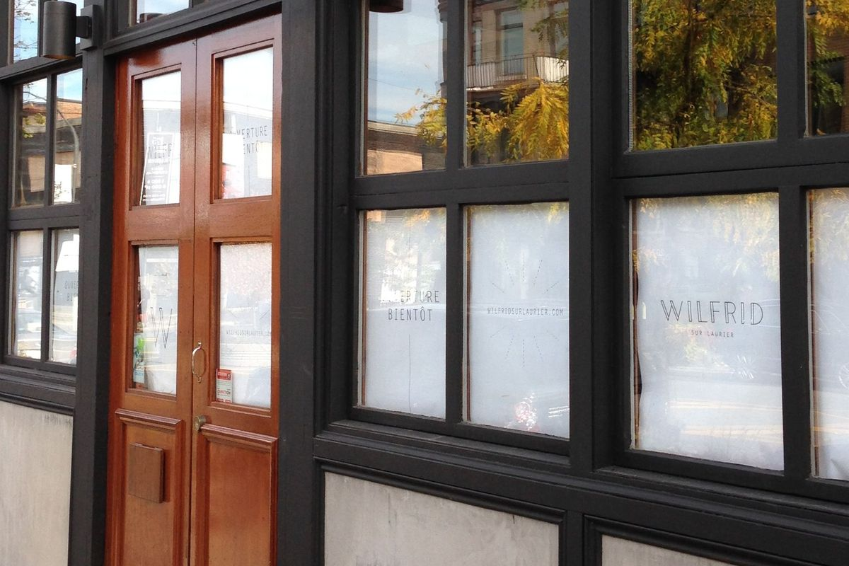 Wilfrid sur Laurier, the new home of chef Michel Ross