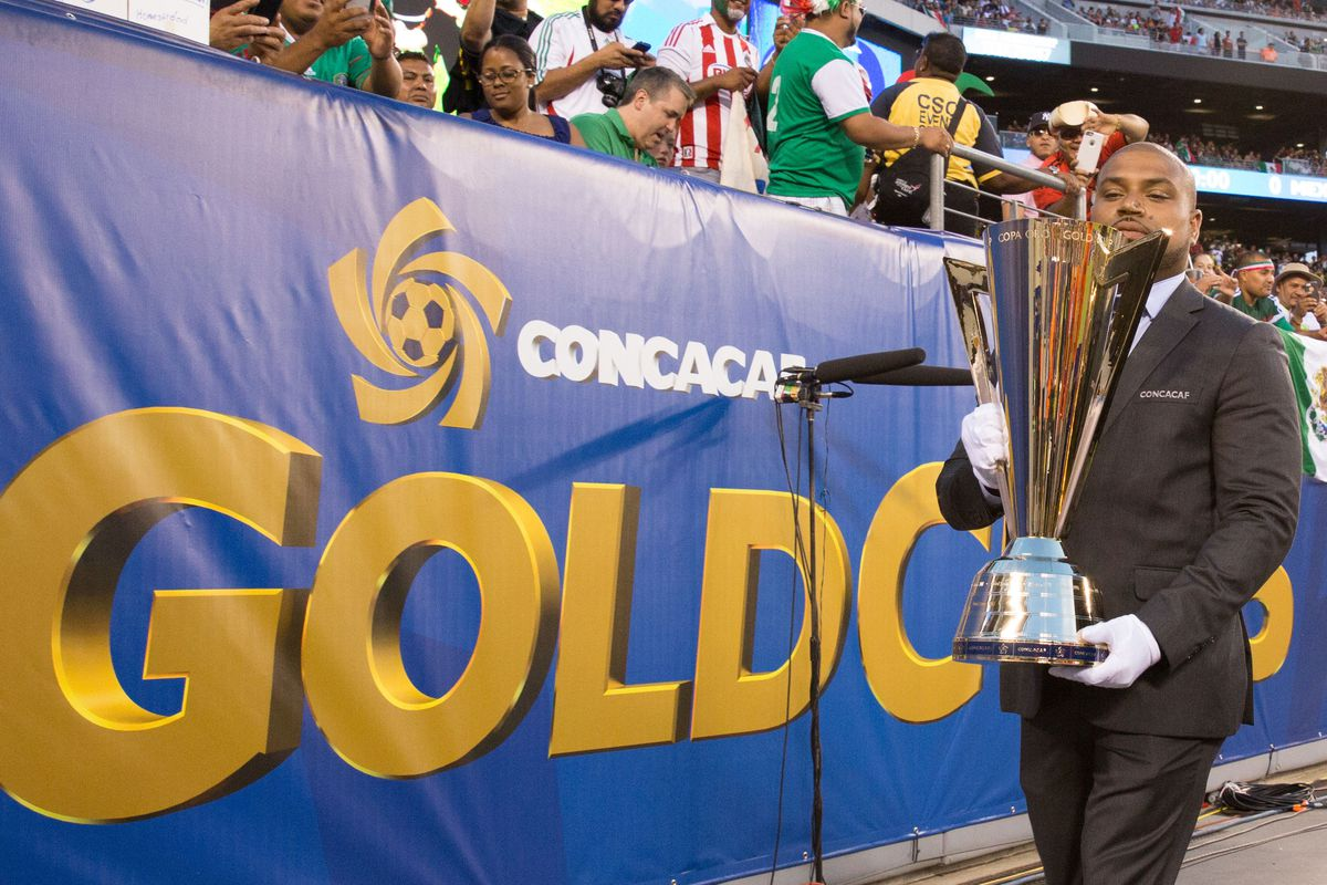 Soccer: Gold Cup-Final-Jamaica at Mexico