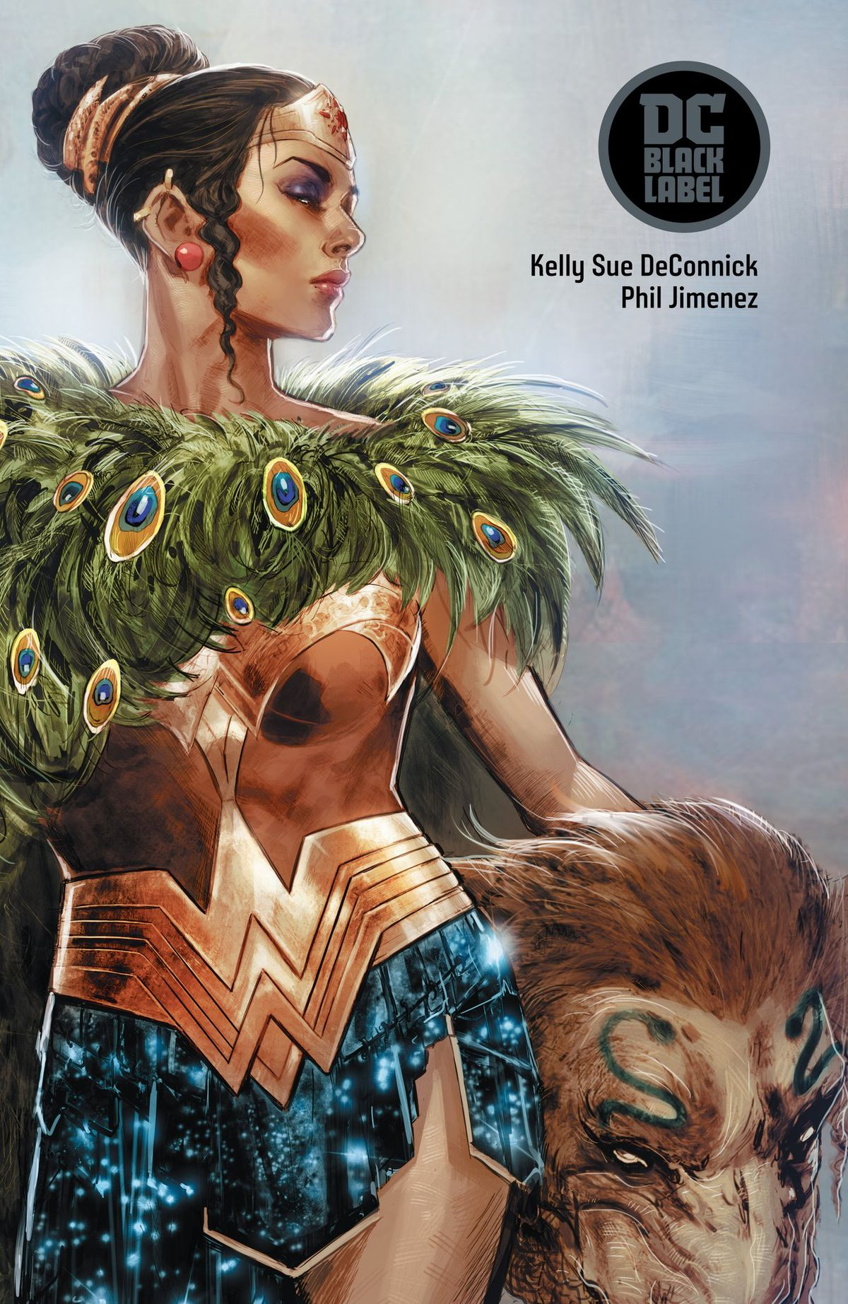 Art teased with the announcement of Wonder Woman Historia: The Amazons, DC Comics, 2018.