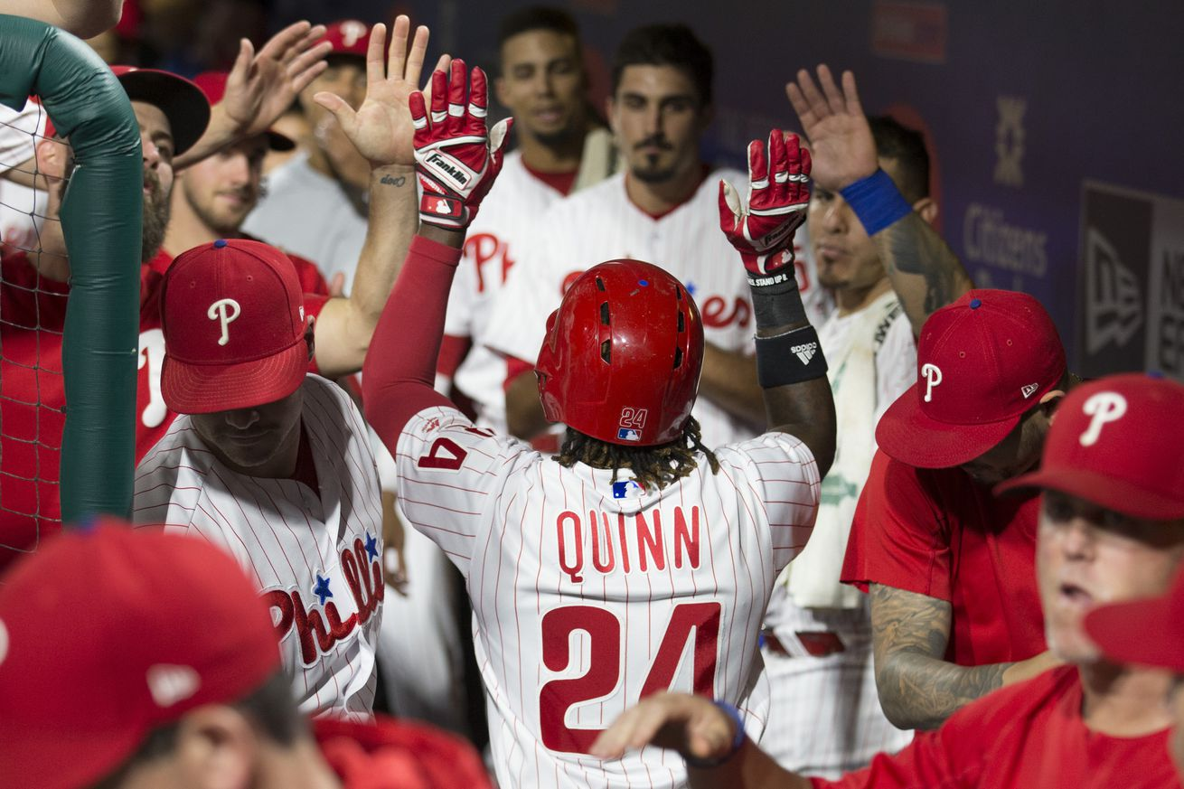 There were lots of reasons for the Phillies to celebrate on Friday