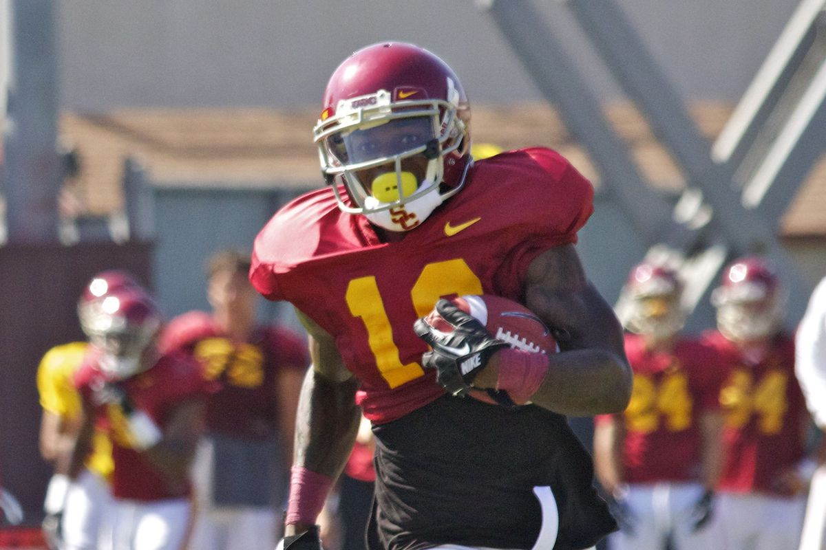 Anthony Brown switched to running back in the offseason.