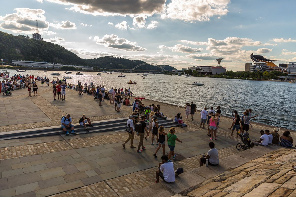 Pittsburghers at Point State Park