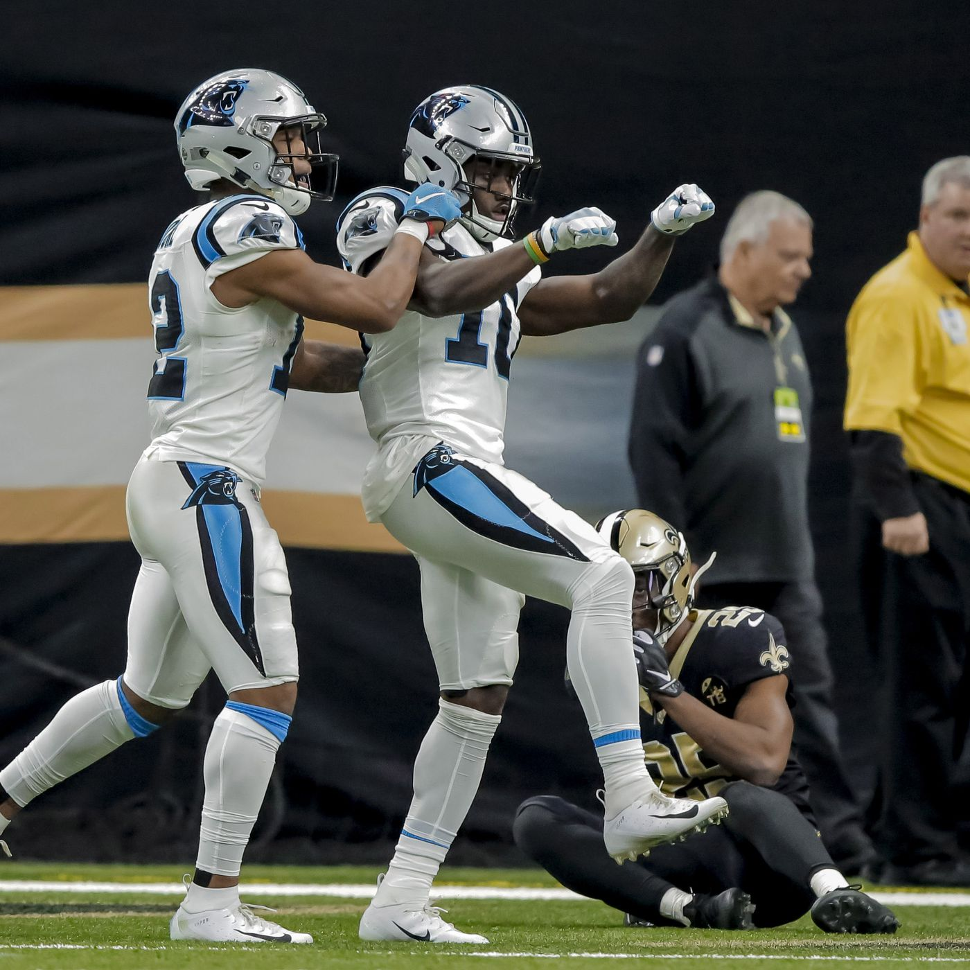 Panthers 31 Saints 34 Panthers Fight Hard But Come Up Short