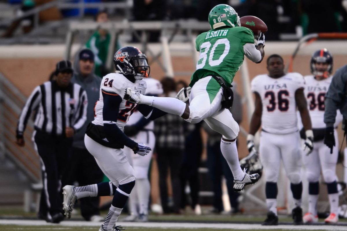 Wide Receiver Darnell Smith was the lone bright spot in UNT's worst loss of the season to UTSA