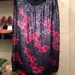 Sequined skirt, $79