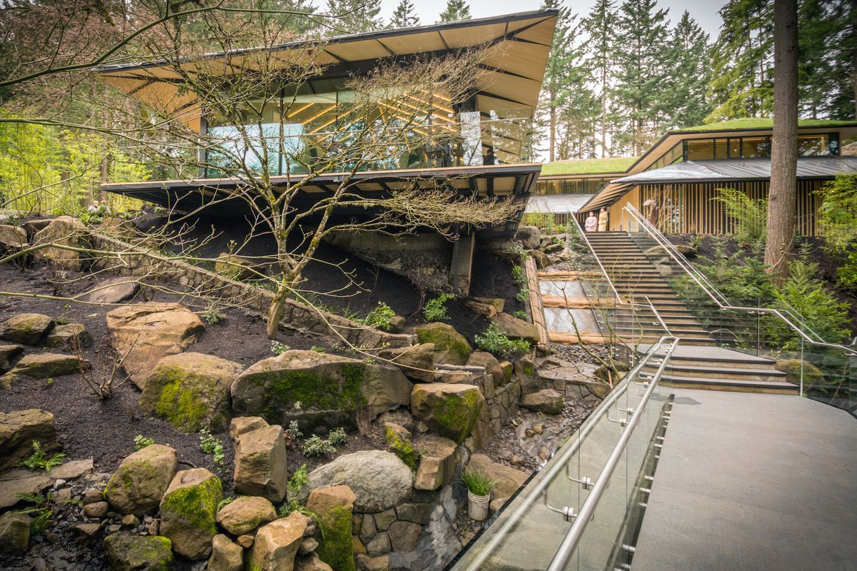 Portland Japanese Garden\'s Kengo Kuma-designed expansion is now open ...