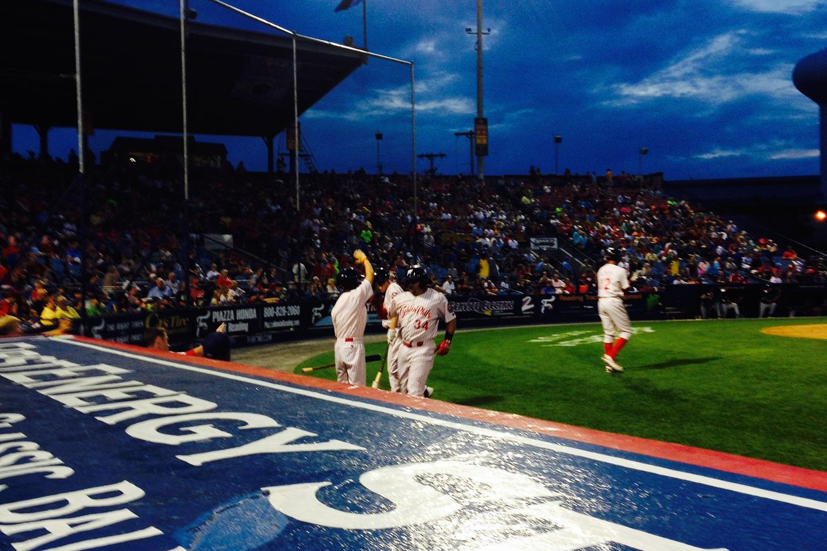 Gallery Photo: I Call You Out, Crazy Hot Dog Vendor: An Evening At The Ballpark With The Reading Fightins And My Camera