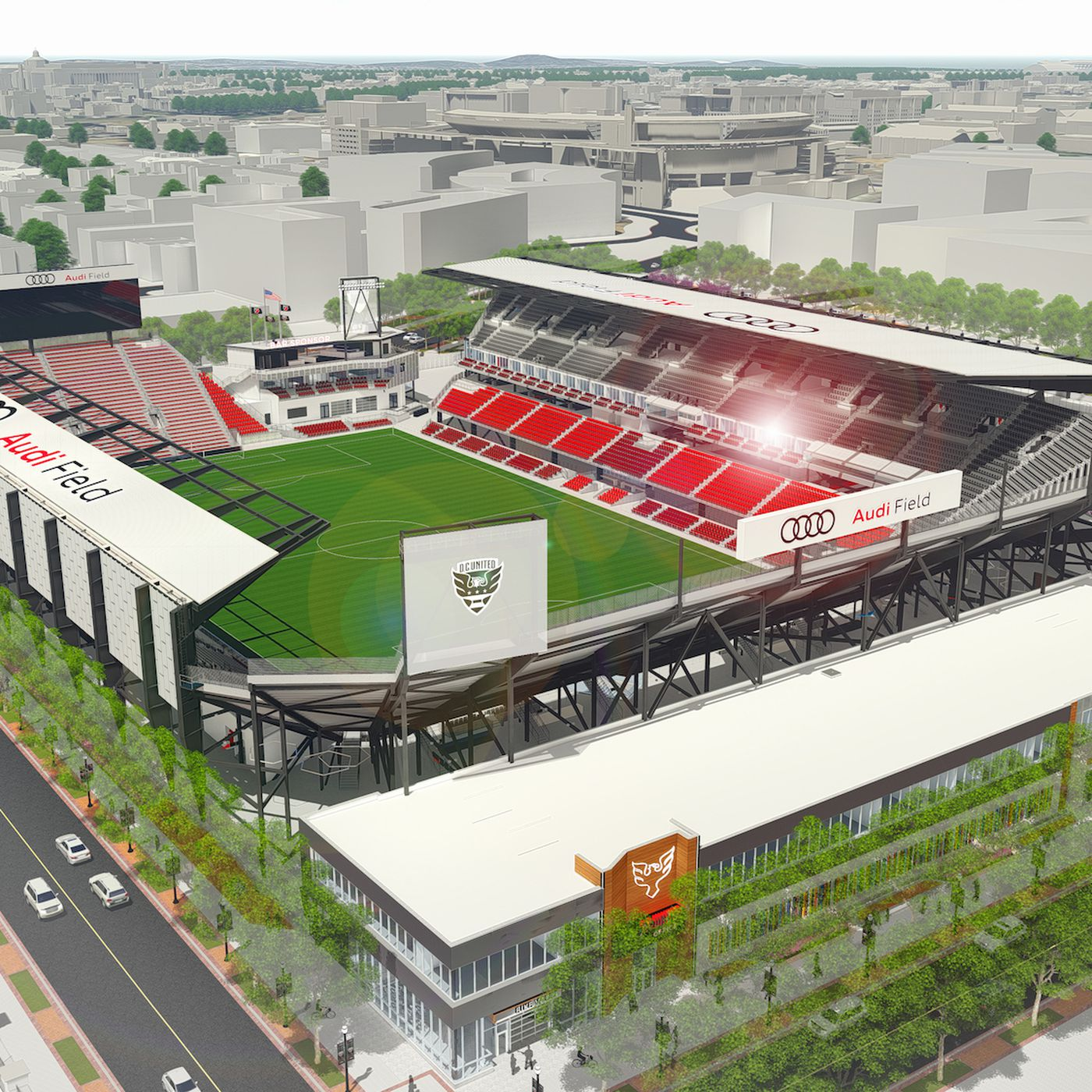Dc United Release Membership Guide For Audi Field Black And Red