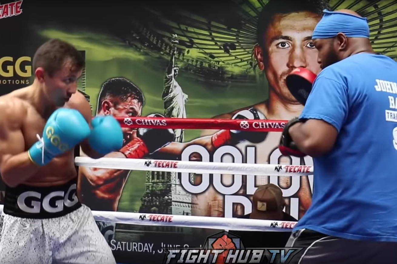 Screen Shot 2019 05 29 at 9.05.14 AM.0 - Golovkin-Rolls: Gennady Golovkin's Media Workout