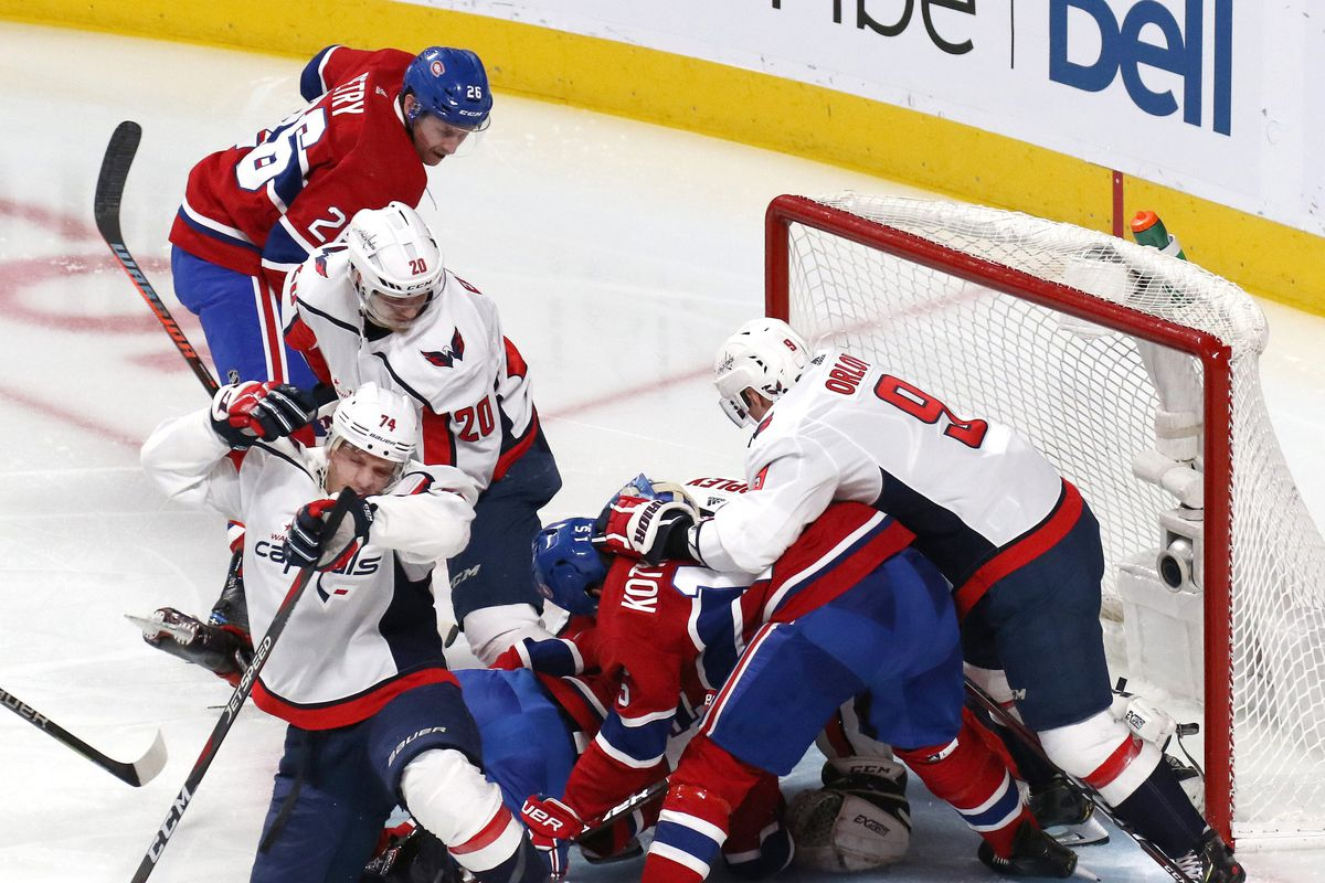 4532bbad671 Canadiens vs. Capitals Top Six Minutes: Are You Not Entertained ...
