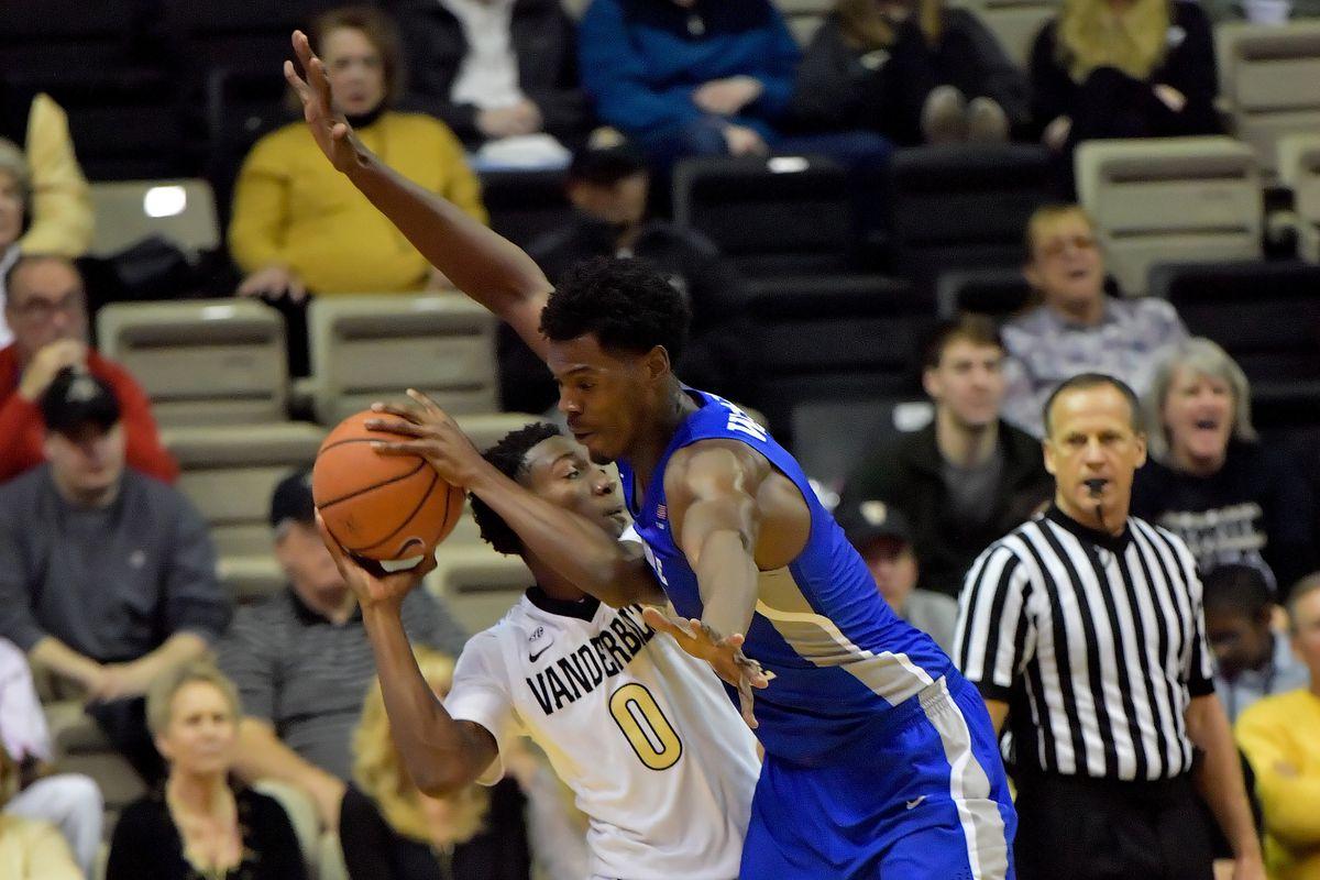 NCAA Basketball: Middle Tennessee State at Vanderbilt