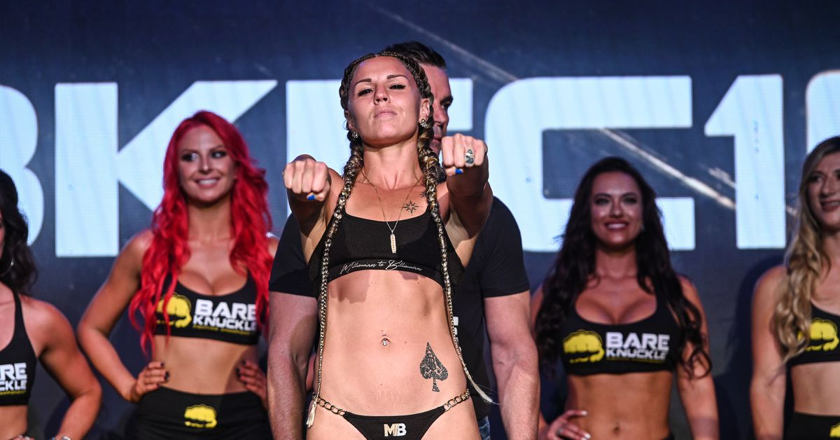 BKFC 19 results: Britain Hart overwhelms Jenny Savage with punches to earn third-round stoppage