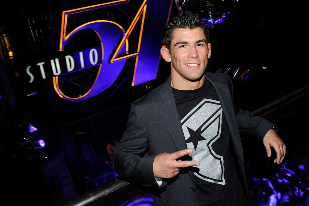 LAS VEGAS, NV - JULY 03:  Mixed martial artist Dominick Cruz attends a post-fight party for UFC 132 at Studio 54 inside the MGM Grand Hotel/Casino early July 3, 2011 in Las Vegas, Nevada.  (Photo by Ethan Miller/Getty Images for Studio 54)