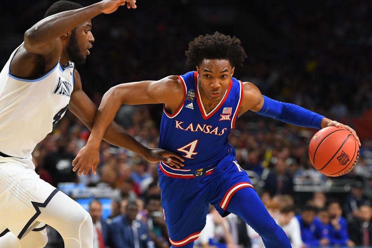aae36f9b457c NBA Draft 2018 scouting report  Kansas guard Devonte Graham ...