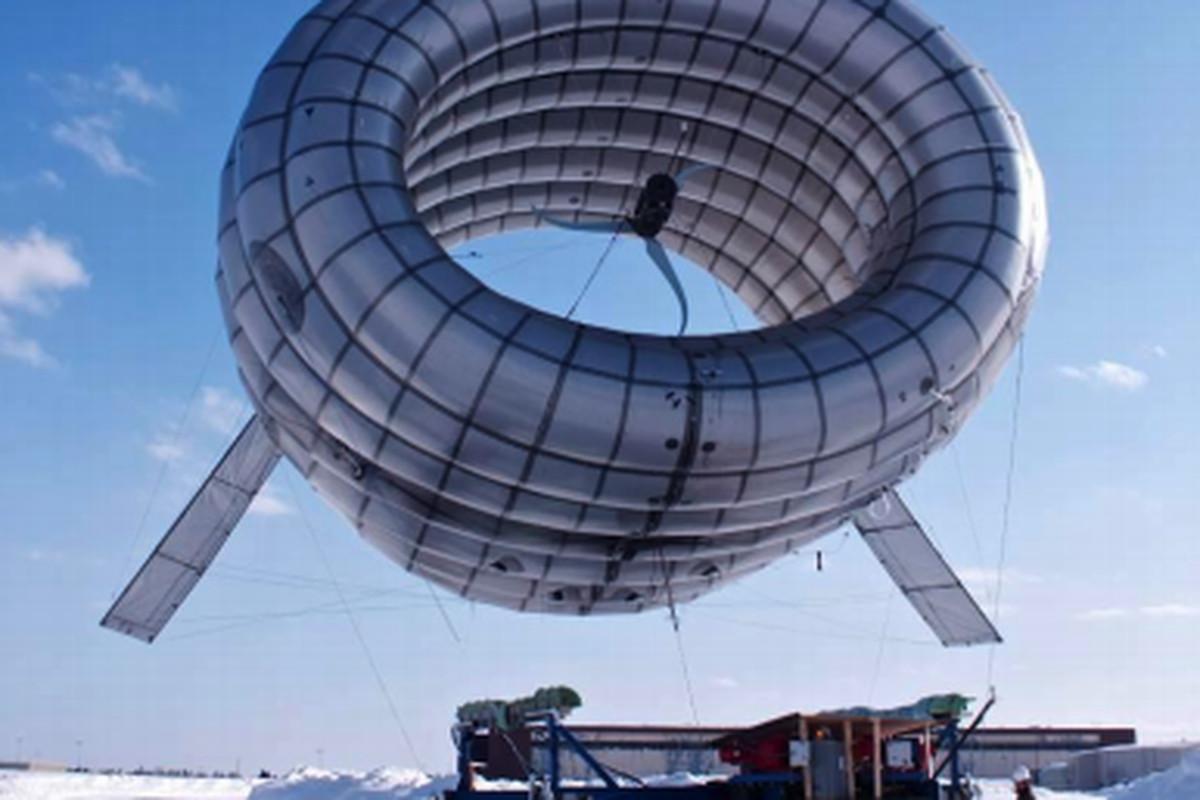 Altaeros Airborne Wind Turbine