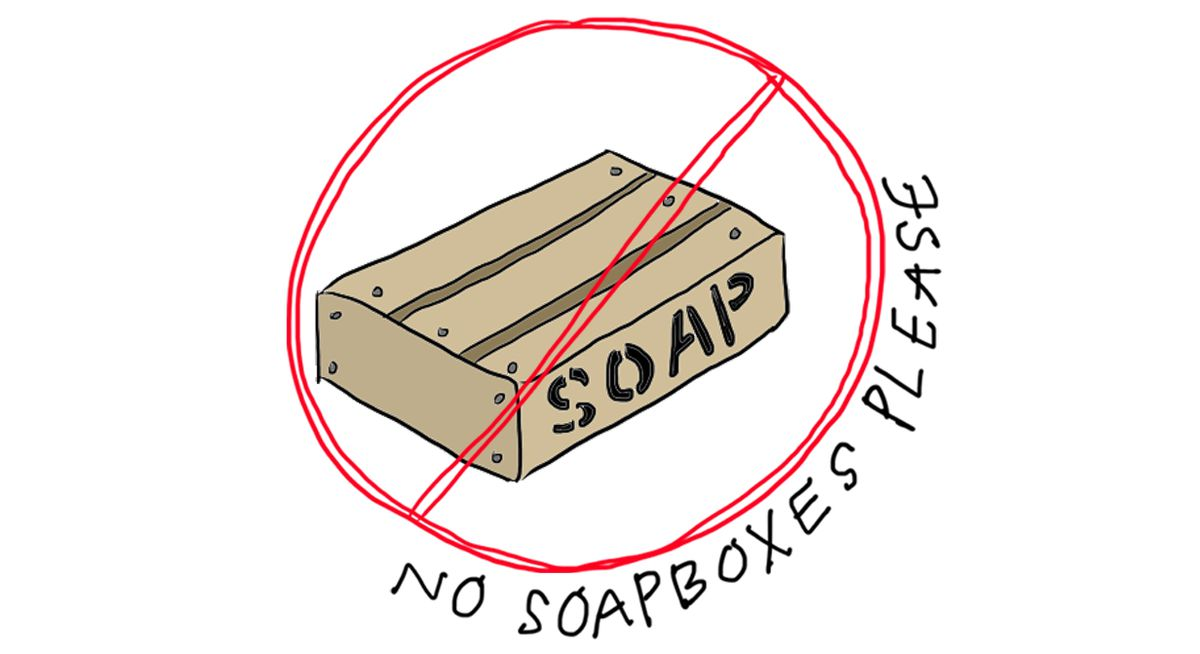 no soapboxes cropped