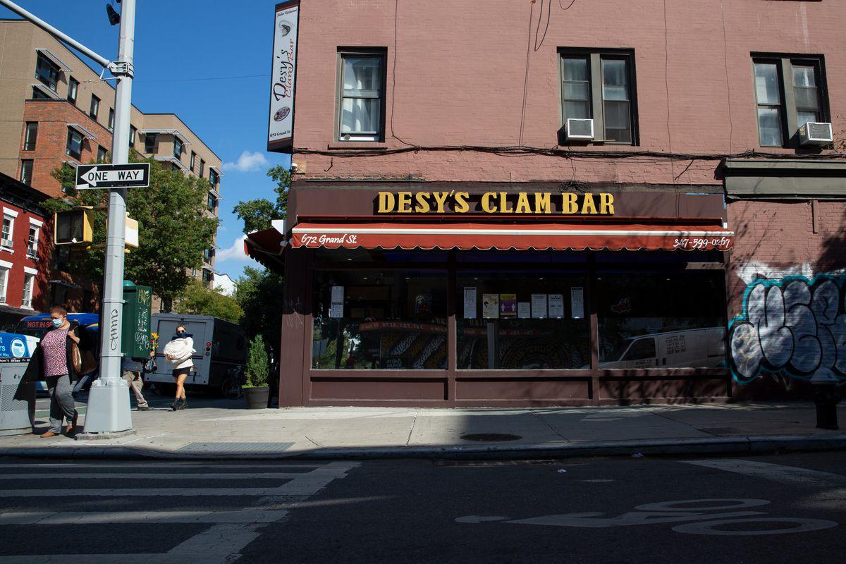 Desy's Clam Bar in Williamsburg, Brooklyn, Oct. 2, 2020.