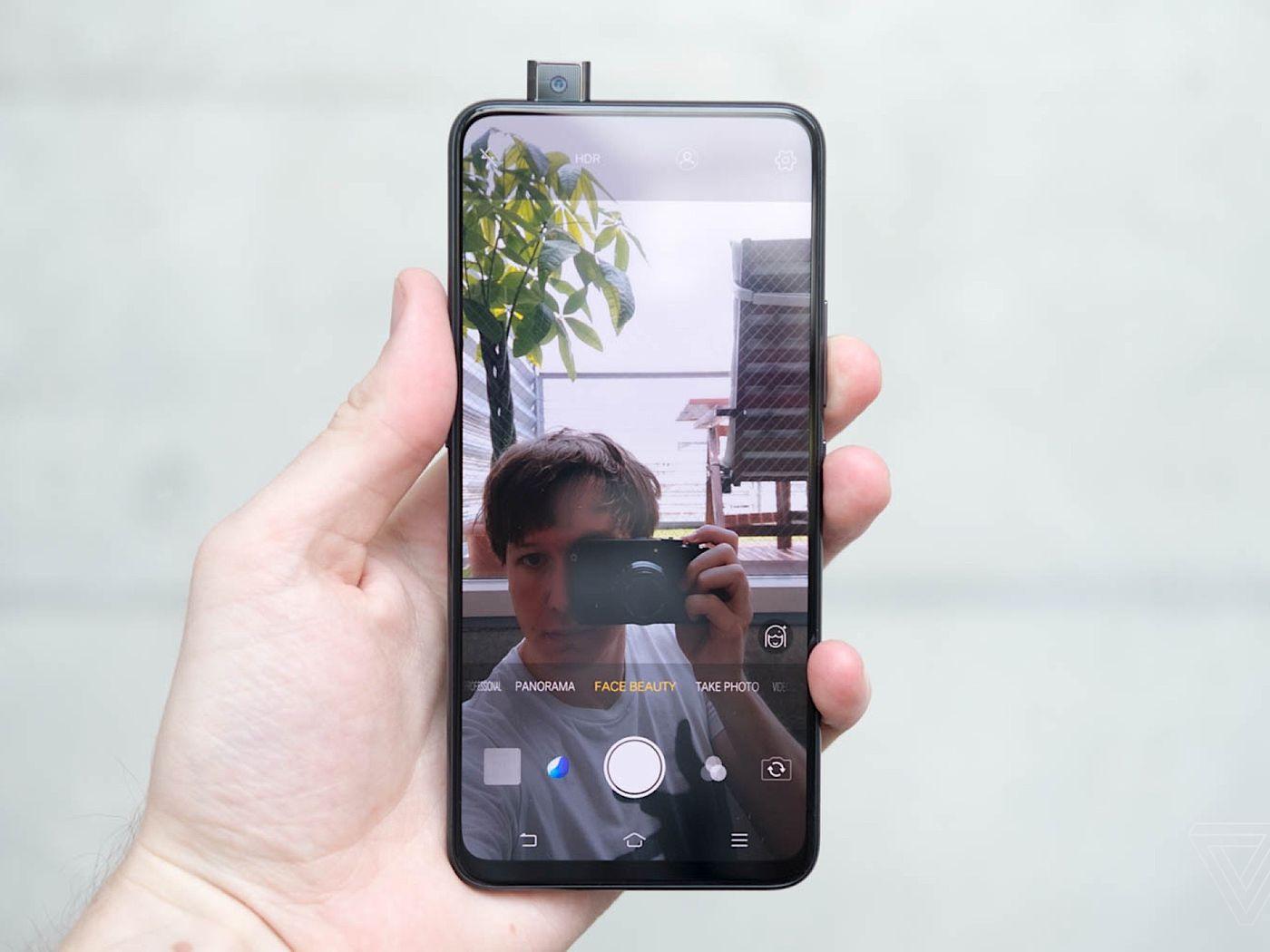 Teardown Shows Inner Workings Of The Vivo Nexs Pop Up Selfie Camera