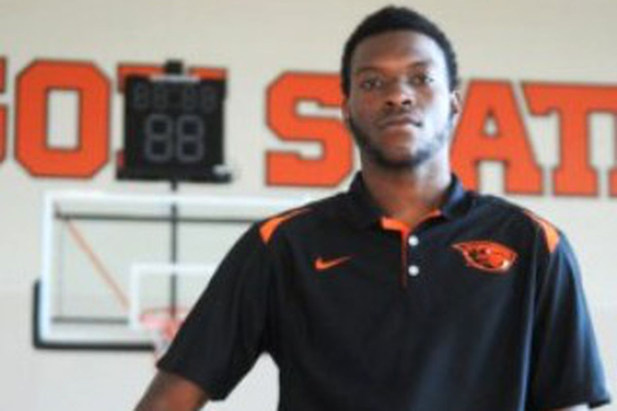 Oregon St.'s Chai Baker is out of the hospital.