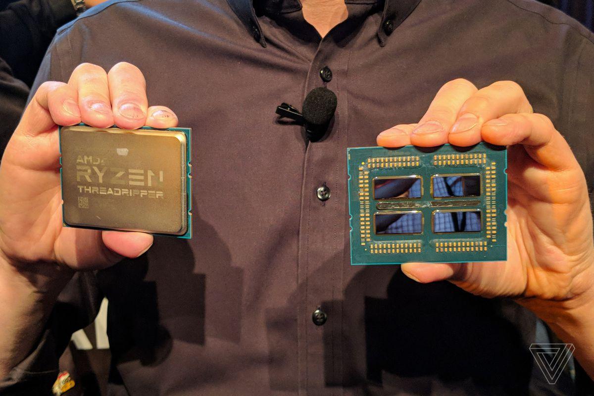 The 32-core, 64-thread second-gen AMD Threadripper