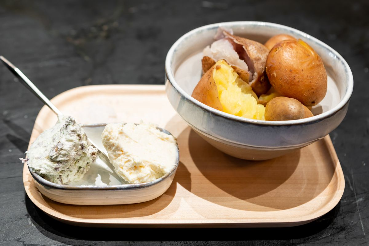 Potatoes from Anchovy Bar