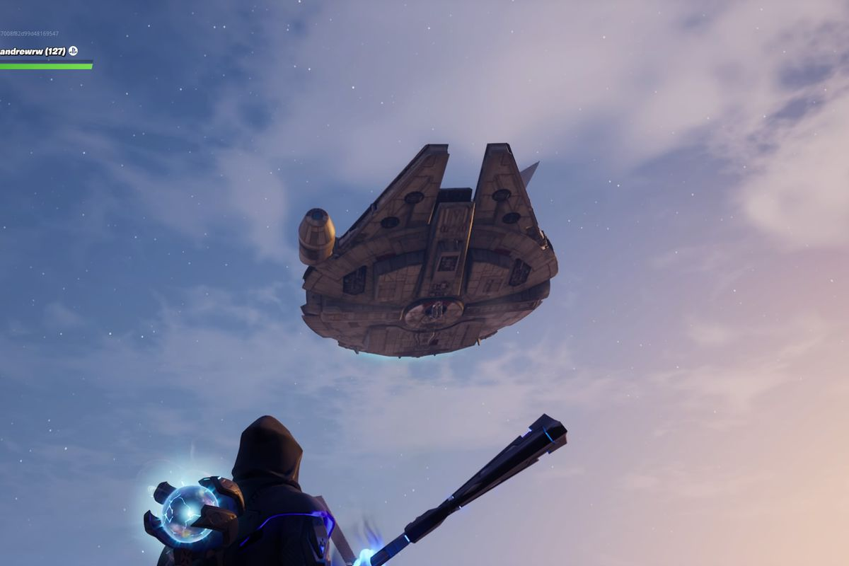 J J Abrams Shows Off Star Wars The Rise Of Skywalker Clip In Fortnite The Verge