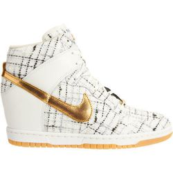 """Nike Dunk <a href=""""http://www.barneys.com/Nike-Dunk-Sky-Hi-Paris/502739722,default,pd.html?cgid=womens-flats-sneakers&index=2"""">Sky Hi Paris</a>: """"So dope, and they've got the concealed wedge everyone is obsessed with."""""""