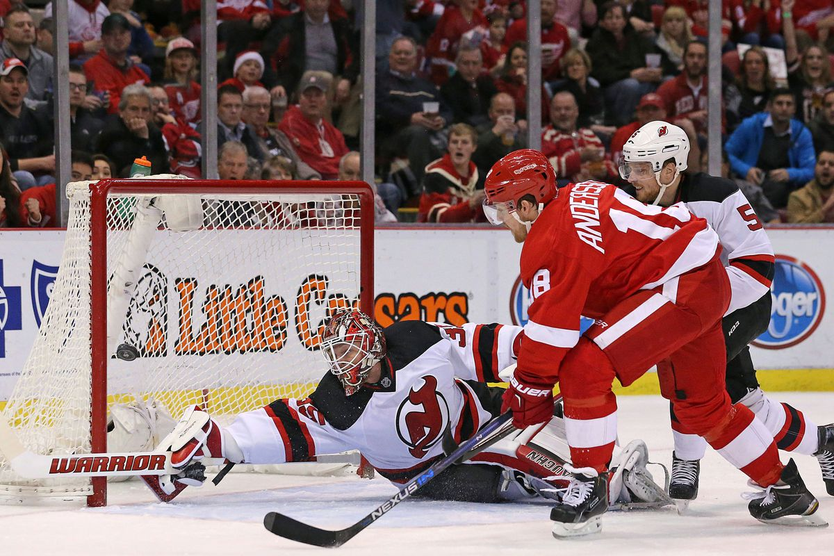 Let's hope Schneider doesn't have to make as many crazy saves tonight as he did in Detroit.