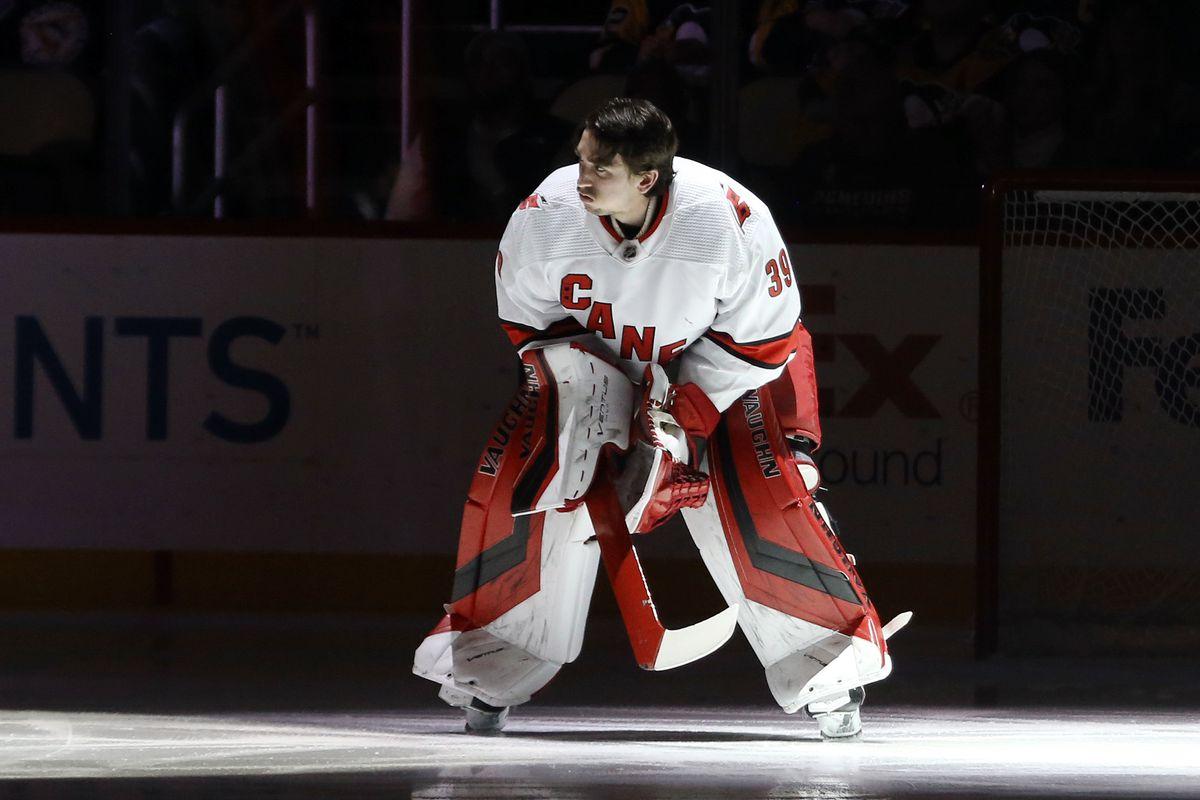 NHL: Carolina Hurricanes at Pittsburgh Penguins