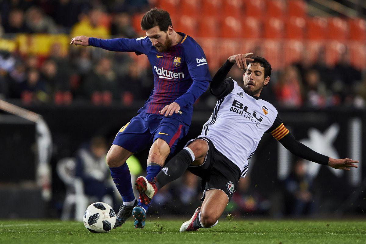 Valencia v Barcelona - Copa del Rey Semi Final Second Leg