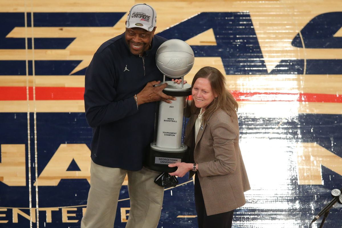 Why Patrick Ewing and Georgetown are the feel-good story of March Madness  so far - SBNation.com
