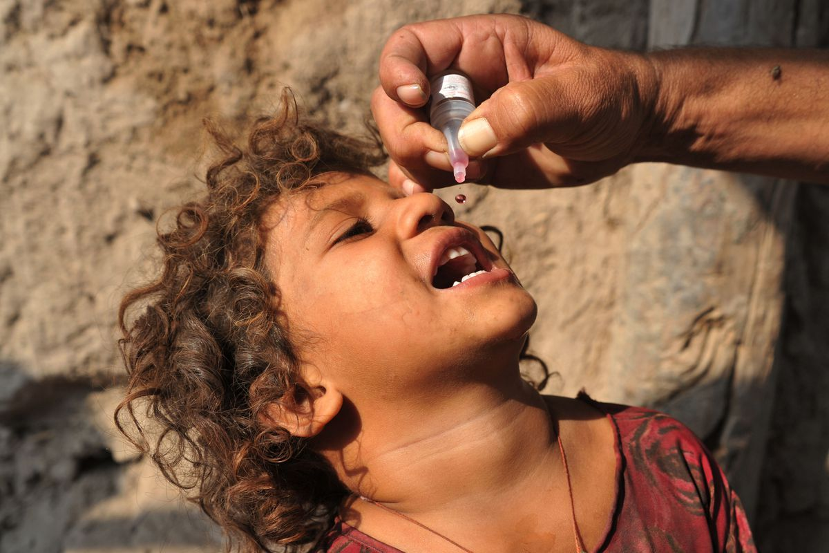 polio afghanistan
