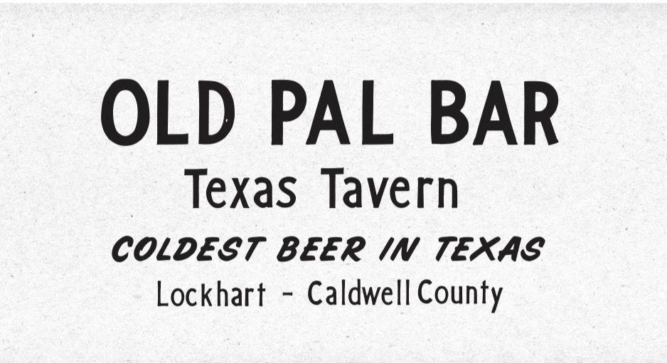 Old Pal's logo